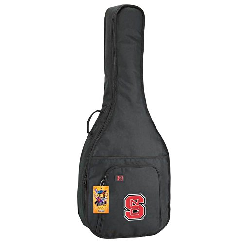 NCAA Collegiate Acoustic Guitar Bag - North Carolina State Wolfpack by Spirit Straps