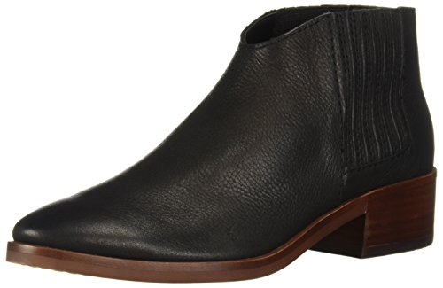 Dolce Vita Women's Towne Ankle Boot, Black Leather, 7.5 M US (Dolce Vita Boots)