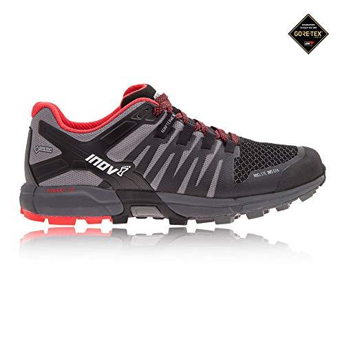Inov8 Men's Roclite 305 GTX Trail Running Shoes Black/Grey/Red M11.5