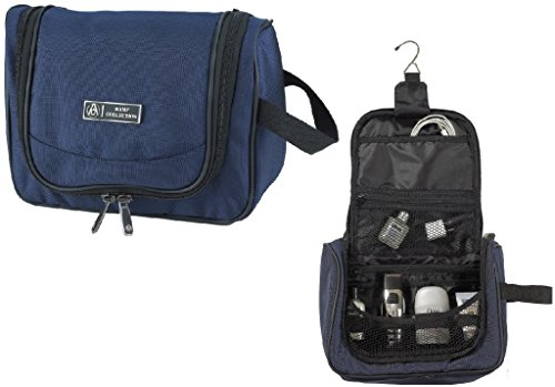 Bamf 2131103 Navy Hanging Organizer Travel Kit - Case of 12 by Bamf