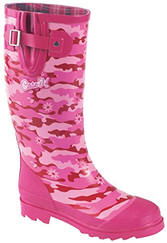 Pink Camo Rubber Boot