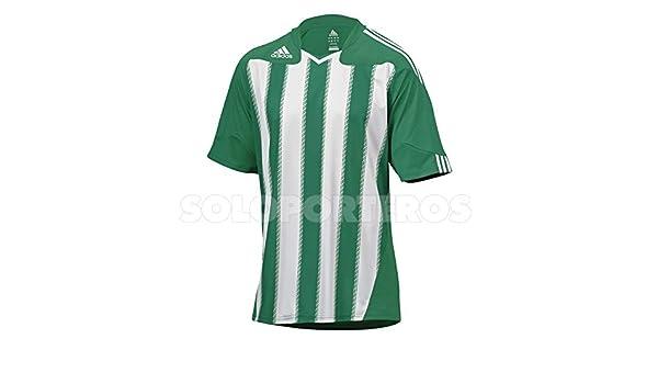 adidas Camiseta Stricon Blanca-Verde Talla L: Amazon.es: Deportes y aire libre