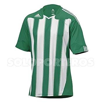 Adidas Stricon, Camiseta, Blanca-Verde, Talla S: Amazon.es: Deportes y aire libre