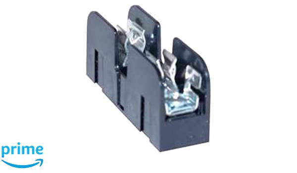 1 Pole 31-60 Ampere Mersen 60606R Amp-Trap 2000 SmartSpot Time-Delay//Class RK1 Fuse Block with Box Connector 600V