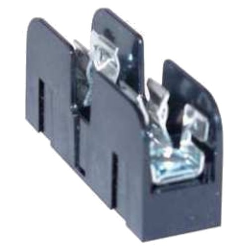 Mersen 61007SJ Class J Spring Reinforced Fuse Block with Box Side Clip Connector, 2/0-#6 Al/Cu Wire Size, 100 Ampere, 2 Pole