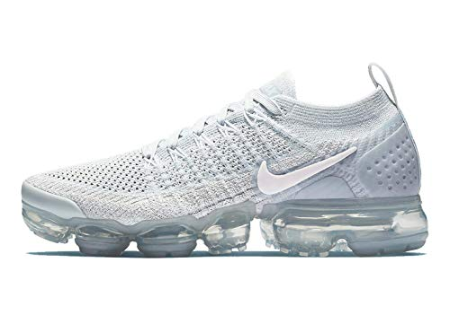 cheap for discount 05067 aa357 Nike Womens Air Vapormax Flyknit 2 Pure Platinum Arctic Pink-White Size 10
