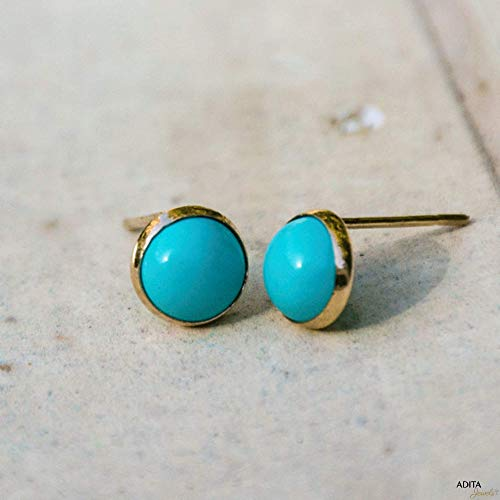 Top 10 best turquoise earrings gold stud