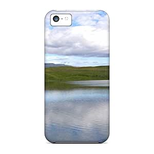 New Arrival Premium 5c Case Cover For Iphone (landscape Lakeside Nature)