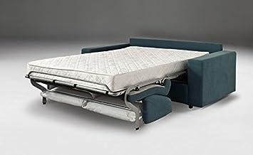 EFFETTO CASA Sofá Cama con colchón Super Cómodo H. 18 cm ...