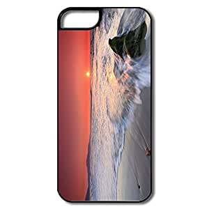 Style Sunset Full Protection Hard Plastic Iphone 5 Cover