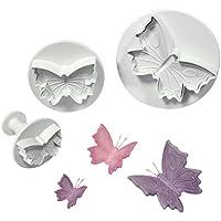 Cortadores de émbolo PME, mariposa, paquete de 3