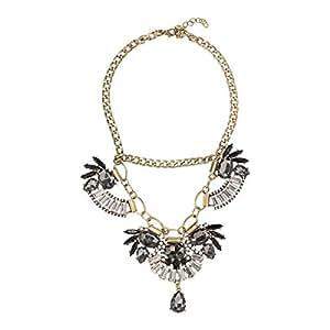 Just Showoff Women's Alloy Fan Necklace