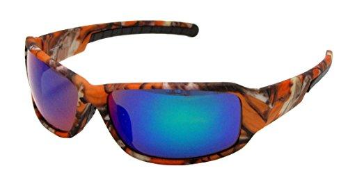 pesca camuflaje y para de Blue caza naranja Gafas VertX y de de de color running Lens aire marrón al los azul Camo libre Orange de blanco diseño ciclismo EBdd0w
