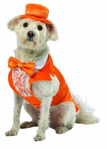 Rasta Imposta Dumb and Dumber Lloyd Orange Tuxedo Dog Costume, XXX-Large (Dumb And Dumber Orange Tux)