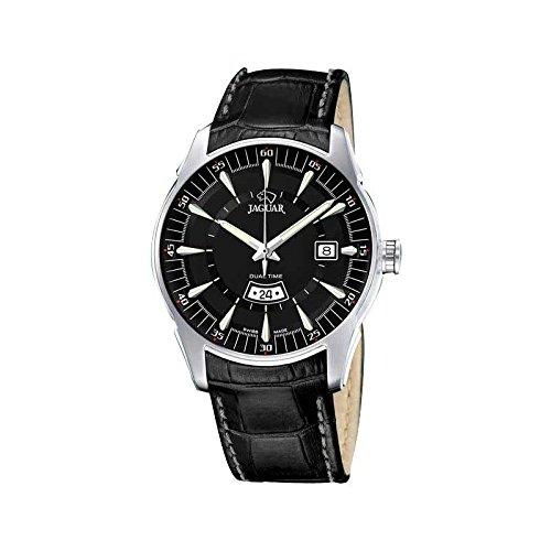 Jaguar J628/H, Reloj de hombre acero con correa de piel. SWISS MADE: Amazon.es: Relojes