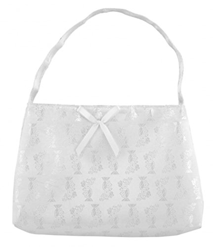 White Satin Purse - 9