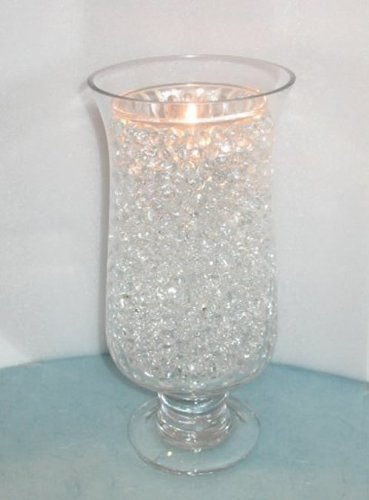 Amazon 2 X Water Pearls Clear Centerpiece Wedding Tower Vase