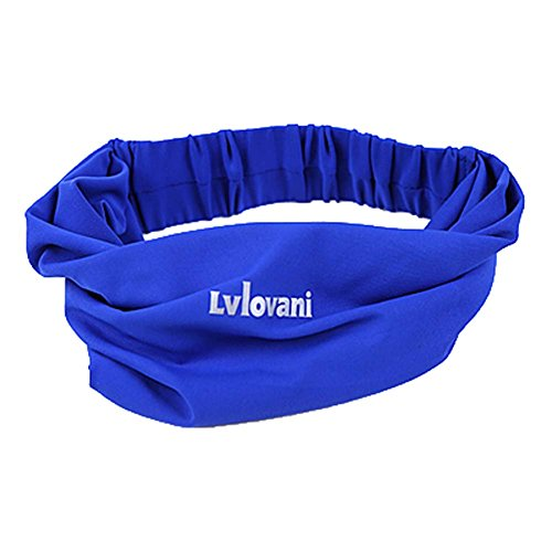 Panda Superstore Headband Ribbon Dries Quickly Scarf YogaAnti-Sweat Slip Exercise Running by Panda Superstore