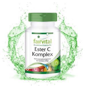 Ester C Complex - VEGANO - Vitamina C con bioflavonoides - 90 ...