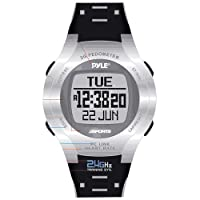 Pyle Sports Heart Rate Monitor Watch with Step Counter, Calories Expenditure and Pc Link from Pyle Sports