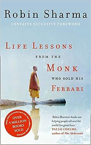 Life Lessons From The Monk Who Sold His Ferrari Amazon De Sharma Robin Fremdsprachige Bücher