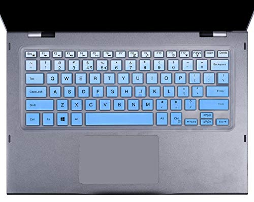 Keyboard Cover Compatible with Dell Inspiron 13 5000 5368 5378 5370 5379/Dell Inspiron 7386 7373 7375 7368 7378 7380/15.6
