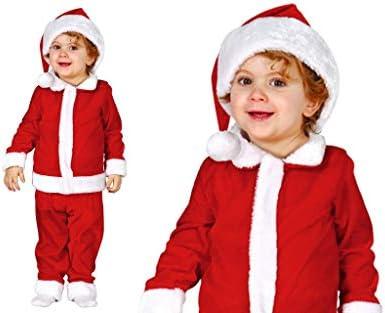 GUIRMA Disfraz de Papá Noel bebé: Amazon.es: Juguetes y juegos