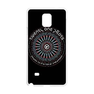 Personalized Durable Cases Samsung Galaxy Note 4 N9108 Cell Phone Case White twenty one pilots logo Trwdtv Protection Cover