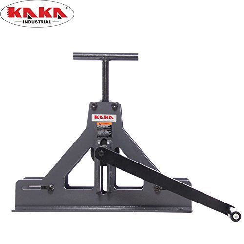 (KAKA Industrial TR-40 Square Tube Roll Bender, Solid Construction Square and Rectangular Tubing Bender, Portable Tubing Rolling)