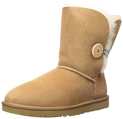 UGG Womens Bailey Button Chestnut Boot 5 B - Medium