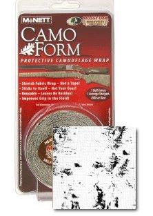 Camo Mcnett Wrap - Mcnett Camo Form Self-cling Camouflage Wrap - Snow