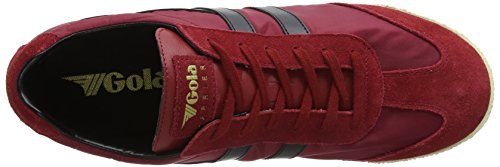 Gola Uomo deep Rosso Harrier Rb Sneaker Nylon black Red Snq6SxTrw