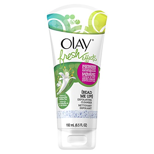 Wash Olay Face (Olay Fresh Effects Bead Me Up Exfoliating Cleanser, 6.5 Fluid Ounce)