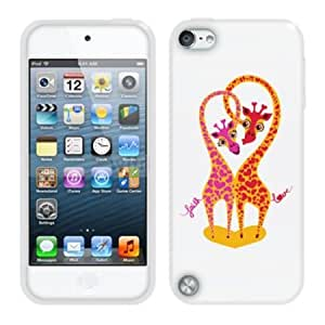 Bloutina Fincibo (TM) Protector Cover Case Silicone Skin Soft TPU Gel For Apple iPod Touch 5 (5th Generation) - Couple...