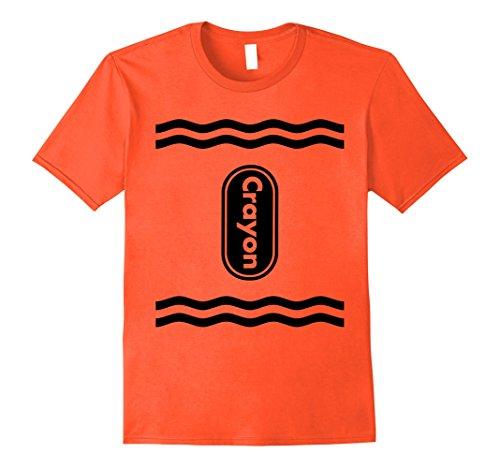 Mens Halloween Crayon Costume T-Shirt Group 2 (Multiple