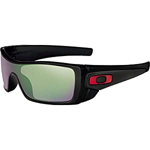 Oakley Men's Batwolf Prizm H20 Shallow Polarized Sunglasses, Polished Black, 127 mm