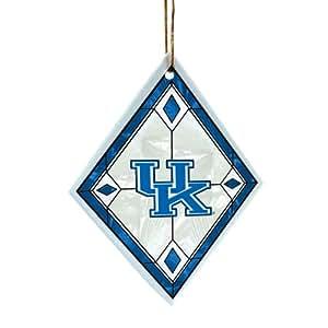 NCAA Kentucky Wildcats Art Glass Ornament