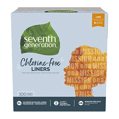 Seventh Generation Pantiliner Clear Count product image