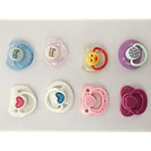 Pinky Reborn Doll Supplies Magnet Pacifier Reborns Baby Dolls Accessories Dummy Random Delivery