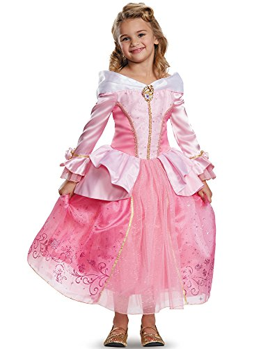 (Aurora Prestige Disney Princess Sleeping Beauty Costume, One Color,)