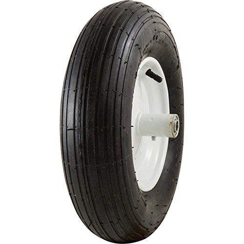 Marathon Tires Pneumatic Wheelbarrow Tire - 5/8in. Bore, 4.80/4.00-8in.