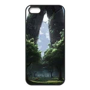 Unique Phone Case Design 4Fairy Castle- For Apple Iphone 5 5S Cases