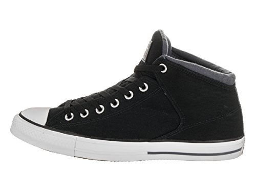 Converse Womens CTAS High Stree Canvas Trainers Black/Sharkskin/White