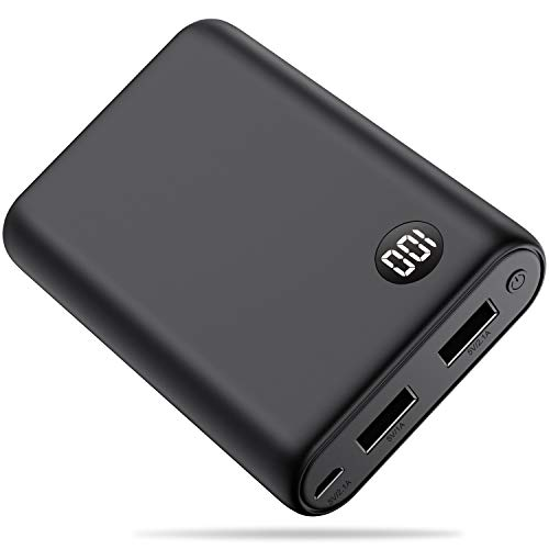 Portable charger Power bank 13800mAh [2019 Completely New] External Battery Packs Charger The Lightest High-speed charging portable Phone charger Compatible with SmartPhone, Android,Tablet and (Best Bank Battery For Cell Phones)