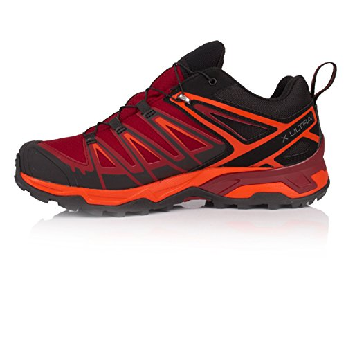 Black Scarlet Ibis Dalhia Shoes Green Red Salomon 3 Ultra X 000 GTX Black Men's Climbing 7 xqwUvO
