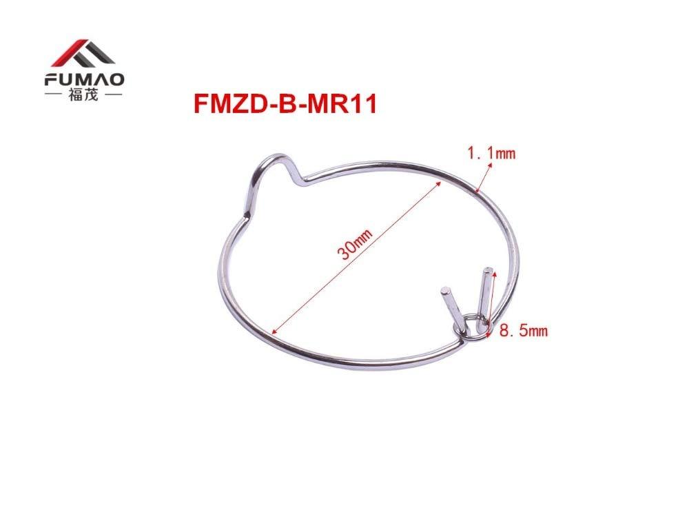 Jienie Manufacture Custom front side MR16 COB downlight retaining ring spring clip - (Length: FMZD-B-MR11)