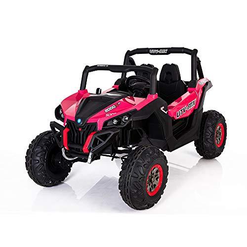 Best Ride On Cars Lightning UTV with 4 Motors, Pink