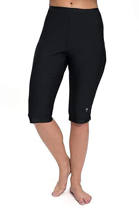 7fd3550e17 Amazon.com: HydroChic Clam Digger Below The Knee Shorts - Chlorine ...