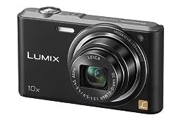 Panasonic Digital Camera Lumix SZ3 optics 10 times black DMC-SZ3-K