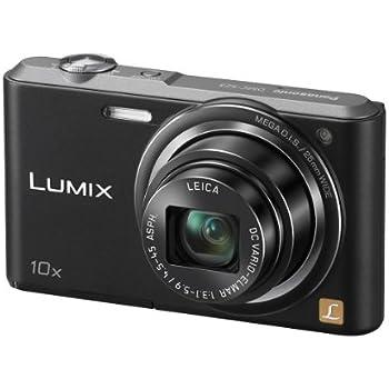 Panasonic Lumix DMC-SZ3 16.1 MP Compact Digital Camera  with20x Intelligent Zoom (Black) (OLD MODEL)